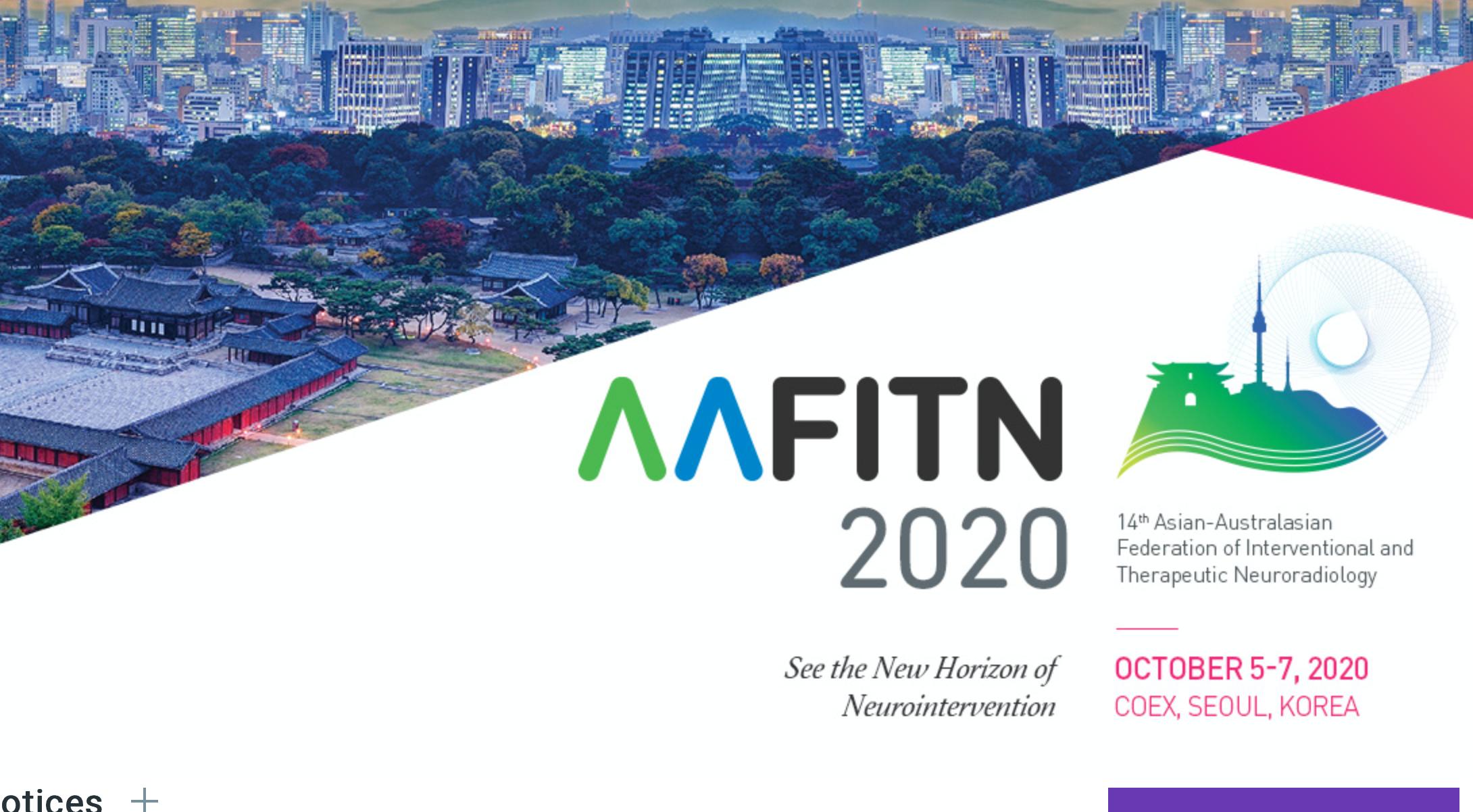 AAFITN 2020 in Korea
