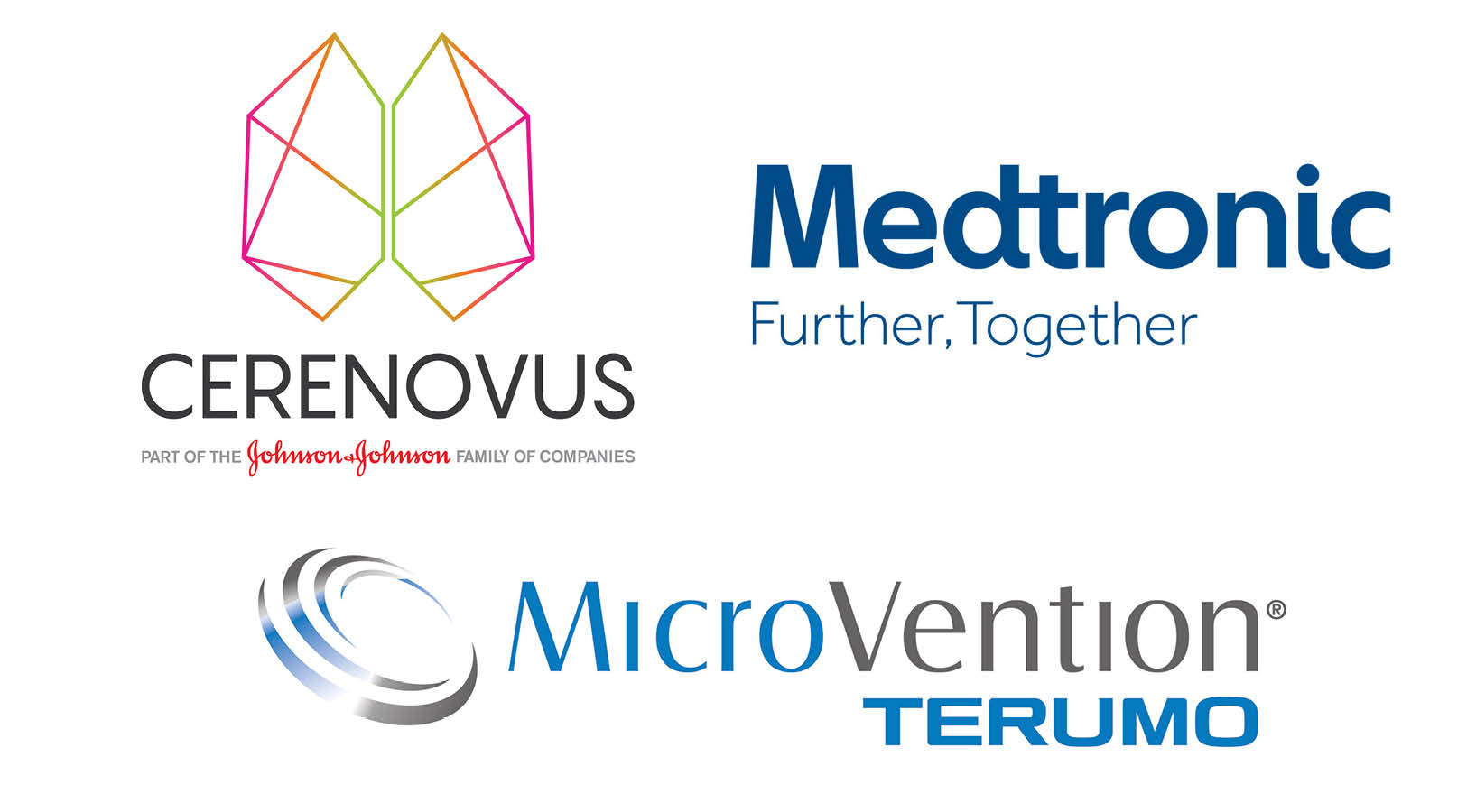 Cerenovus, Medtronic and Microvention, the Platinum Sponsors of the Congress 2020.