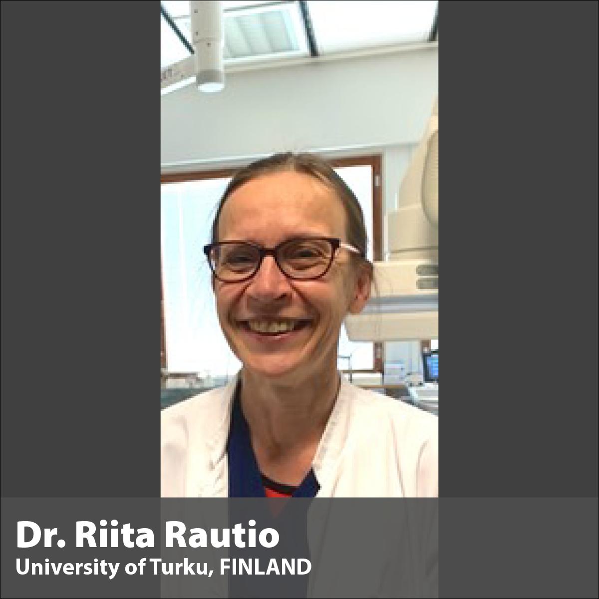 e-Fellowship Mentor Dr. Riita Rautio