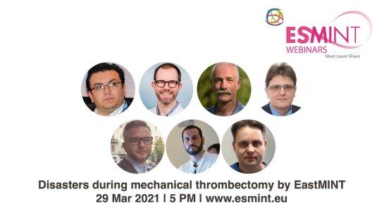 EastMINT Webinar 2021 on thrombectomy.