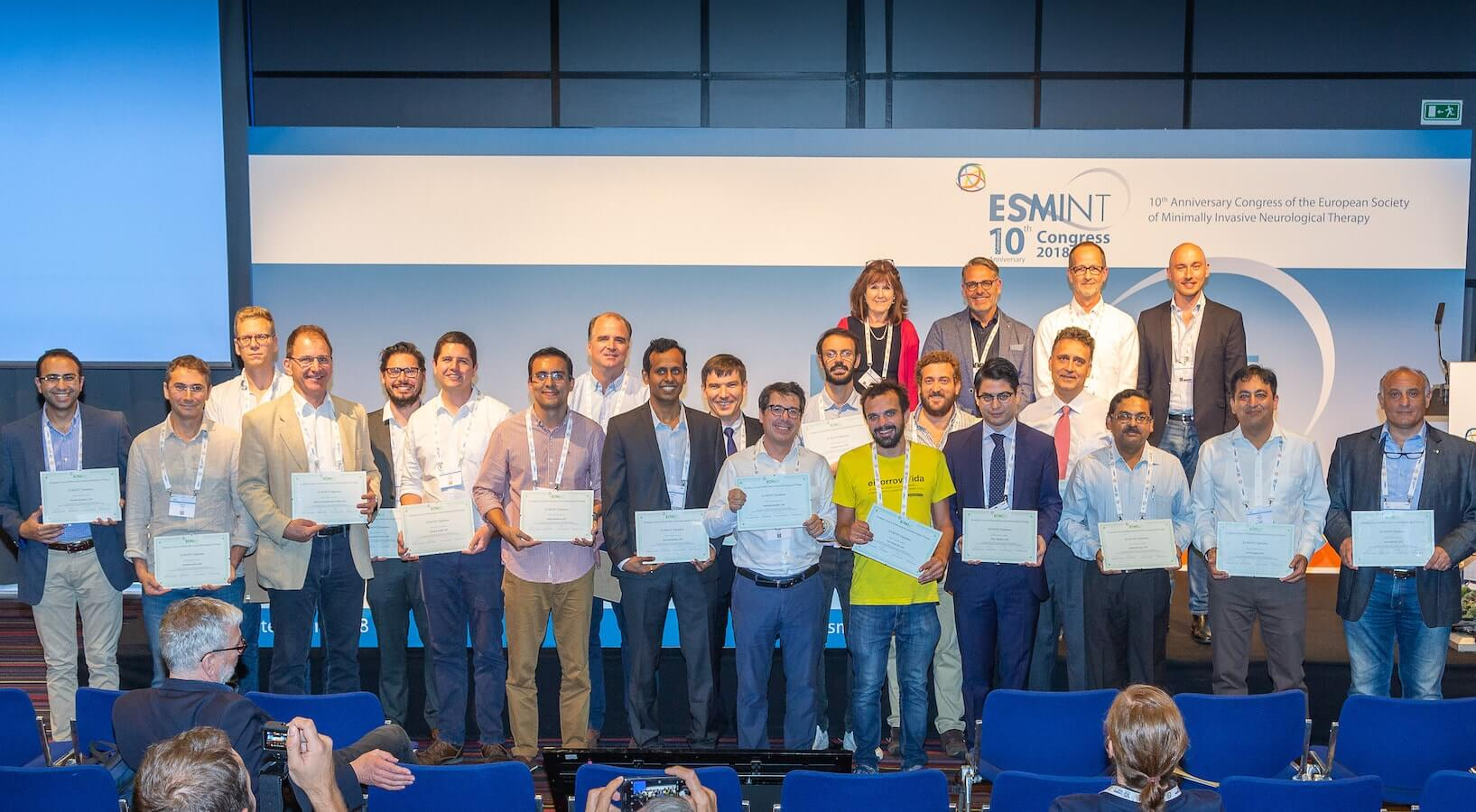 ESMINT Diploma 2018 Award Ceremony