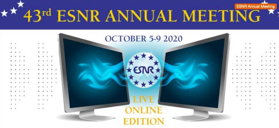 ESNR Annual Congress 2020