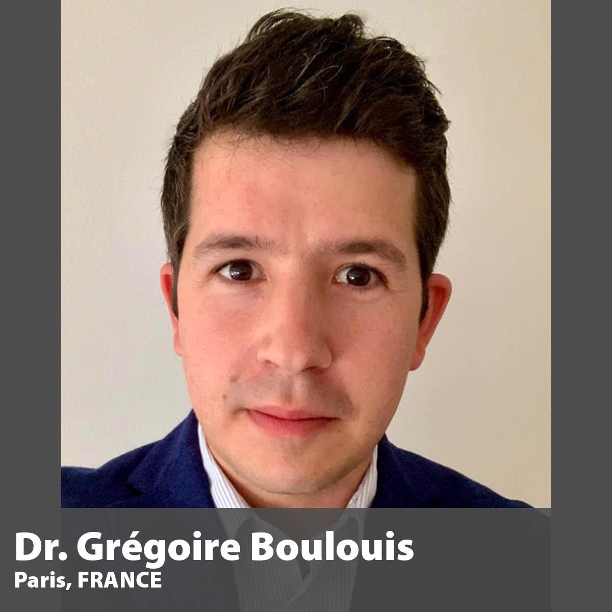 Dr. Gregoire Boulouis