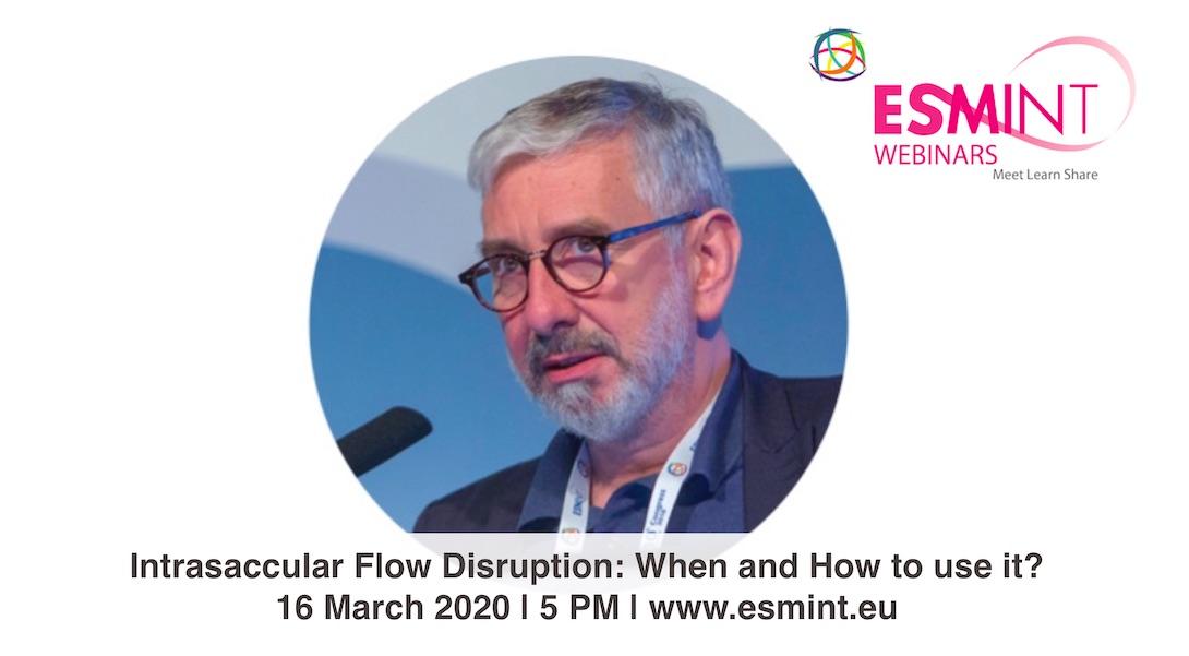 Laurent Pierot: Intrasaccular flow disruption webinar