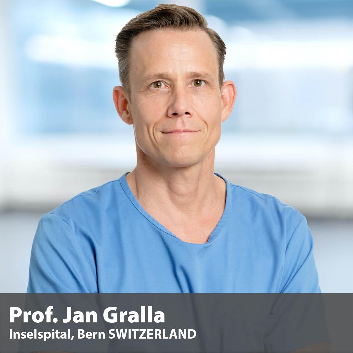 Mentor Prof. Jan Gralla Bern Switzerland