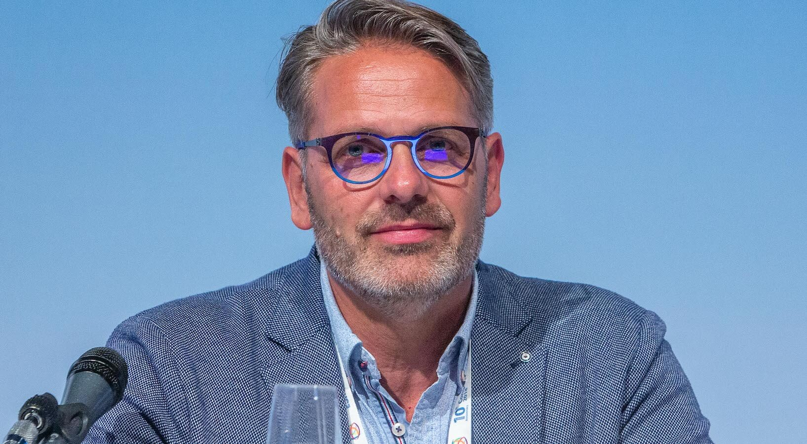 Patrick Brouwer, President of ESMINT.