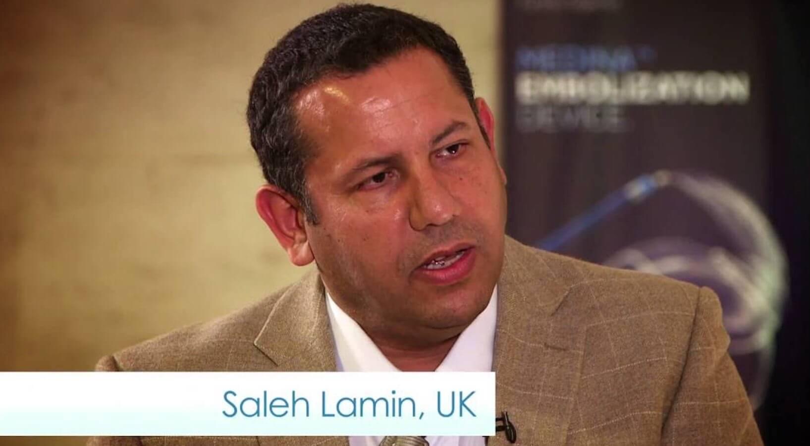 Saleh Lamin belongs to the ESMINT ExCom