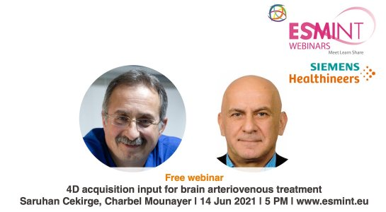 Webinar about bAVM with Prof. Cekirge and Prof. Mounayer.