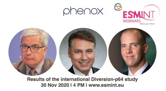 Webinar: Diversion-p64 study supported by phenox.