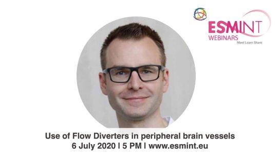 Webinar on flow diverters with Dr. Möhlenbruch.