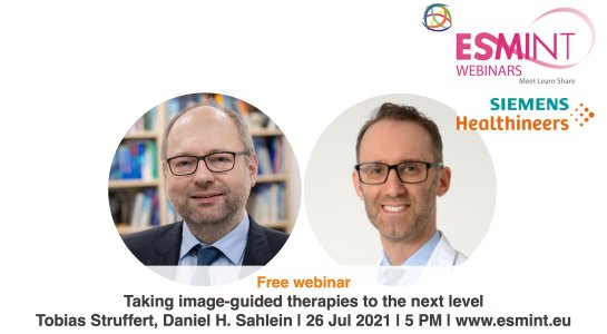 Webinar supported by Siemens Healthineers with Prof. Struffert and Dr. Sahlein.